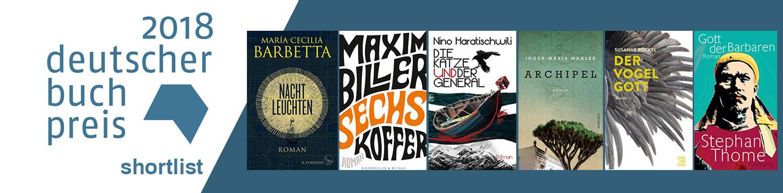 Deutscher Buchpreis Shortlist